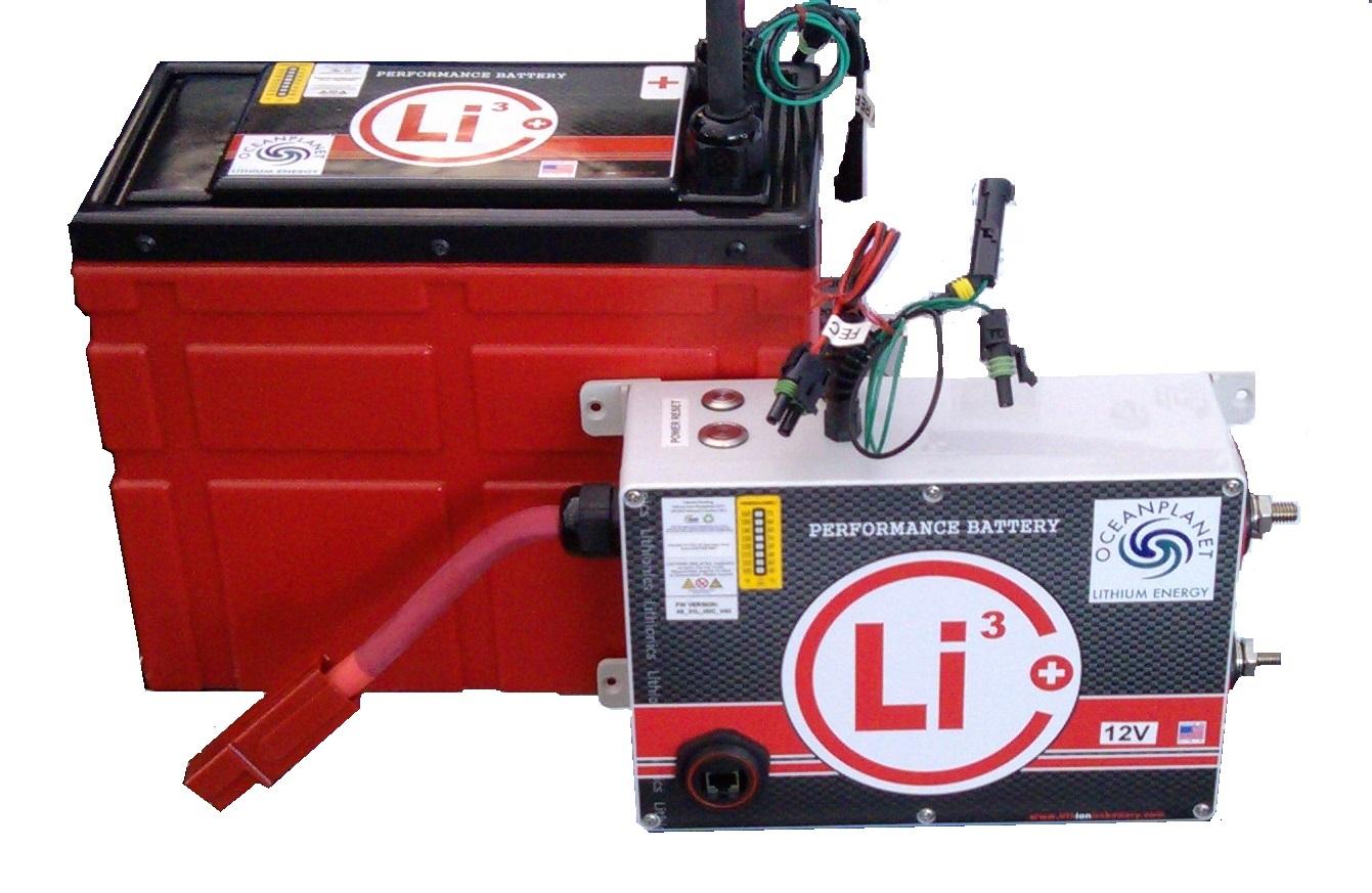 Lithionics Ope Li3 Marine Lithium Battery System Bruce