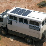 Solbian panels on Earthcruiser
